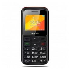 """Мобильный телефон Texet TM-B323 2,0"""" 220х176 черный/красный"""