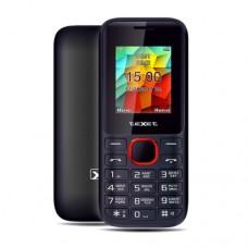 Мобильный телефон Texet TM-129, черно-красный