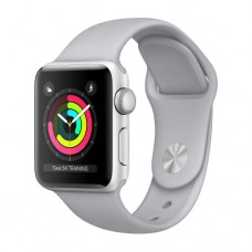 Apple Watch Series 3 GPS 42mm Silver Aluminium Case with Fog Sport Band Model A1859 MQL02GK/A
