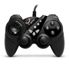Игровой геймпад для ПК X-game USB,PCU2303,Виброрежим,14 кнопок,черный
