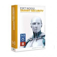 Антивирус ESET NOD32 Smart Security Антивирус+Bonus-расшир.функционал-лицензия на 1 год на 3 ПК, Box