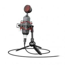 Микрофон студийный Trust GXT244 Buzz  Streaming  USB черный