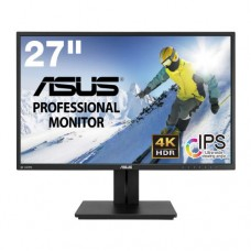 "Монитор 27"" Asus PB27UQ Black, 3840x2160, TFT, 5ms, 300кд/м2, HDMI 2.0 x2, DisplayPort 1.2, аудио ст"
