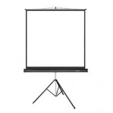 Экран проекционный, Deluxe DLS-T203x, на штативе,Matt White,203x203, Черный