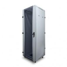 """Шкаф телекоммуникационный  BIGGER , TCB1W-6642, 19"""" 42U, 600*600мм (Ш*Г) IP20, Белый"""
