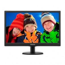 "Монитор 23.6"" Philips 243V5QHABA/01 Black, 1920x1080, MVA, 8ms, 250кд/м2, D-Sub, DVI-D, HDMI, Колонк"