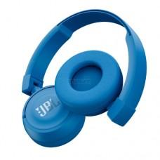 Наушники беспроводные накладные с микрофоном JBL T450, Cable 10m, Blue, JBLT450BTBLU
