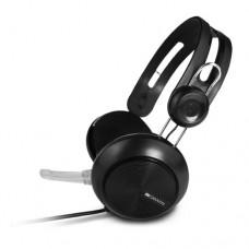 Наушники накладные с микрофоном CANYON CNE-CHSU1B, черный