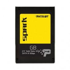 Жесткий диск внутренний Patriot Spark SSD 256GB, PSK256GS25SSDR