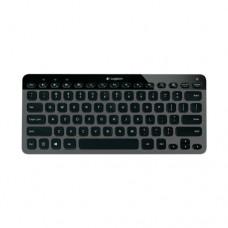 Клавиатура беспроводная Logitech K810, Black