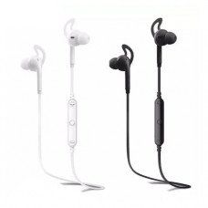Наушники беспроводные вставные с микрофоном Awei A610BL, 20-20000Hz, 110dB, Расстояние 10м, White