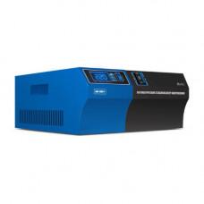 Стабилизатор SVC AVR-1000-F, LED индикатор,Диапазон работы AVR:140-280B, 2вых.,1,2м, Черно-синий