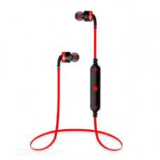 Наушники беспроводные вставные с микрофоном Awei A960BL, 20-20000Hz, 90dB, Расстояние 10м, Black
