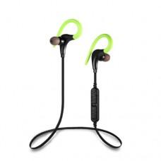 Наушники беспроводные вставные с микрофоном Awei A890BL, 20-20000Hz, 90dB, Расстояние 10м, Green/Bla