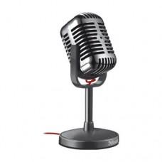 Микрофон настольный Trust Elvii в винтажном стиле, на подставке