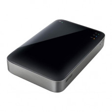 "Жесткий диск внешний 2,5"" Buffalo MiniStation Air 500GB WI-FI & USB 3.0, HDW-P500U3-EU Black"