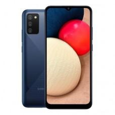 "Смартфон Samsung  Galaxy A02s 32GB  6.5"" 1600х720, 3GbRAM, 17Mp, 2xSIM, LTE,Blue SM-A025FZBESKZ"