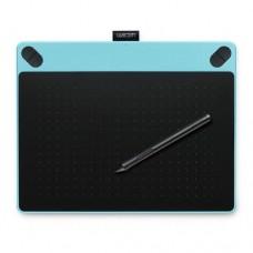 Графический планшет Wacom, Intuos Comic Small Blue CTH-490CB-N, Разрешение 2540dpi, Голубой/Черный