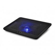"Охлаждающая подставка для ноутбука DEEPCOOL N19, DP-N112-N19BK, 14"", Вентилятор 14см,  Черный"