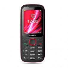 Мобильный телефон TM-D228, черный-красный