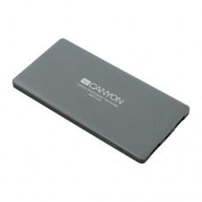 Портативное зарядное устройство Canyon CNS-TPBP5DG, 5000mAh, Выход: USB 2*2.0A, Dark Grey