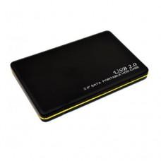 """Корпус для HDD 2.5"""" Золотой кант  USB2.0"""