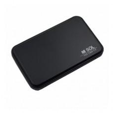 """Корпус для HDD 2.5"""" 2518 U2 M-Sol  USB2.0"""