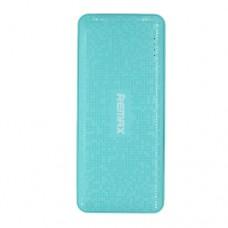 Портативное зарядное устройство Remax, Pure series , 10000mAh, Гулубой