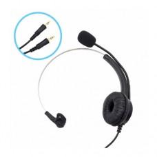 Наушники DH600 с микрофоном 2*3.5 jack 2m