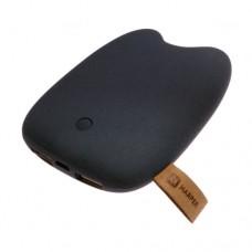 Портативное зарядное устройство Harper, PB-6601, 6600mAh, Выход: USB 1*2.1A, 1*1A, Серый