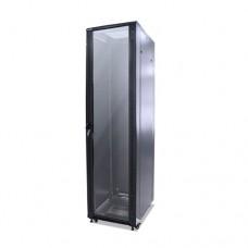 """Шкаф телекоммуникационный  BIGGER , TCU1B-6642, 19"""" 42U 600*600мм (Ш*Г) IP20,Черный"""