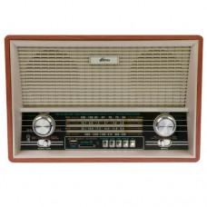 Радиоприемник портативный RITMIX RPR-101, питание от сети (встроенный аккумулятор), Buk