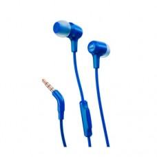 Наушники вставные с микрофоном JBL E15, Cable 1.2m, Blue, JBLE15BLU