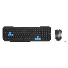 Комплект Клавиатура + мышь X-Game XD-5040OGB,Черный, USB (беспроводная)