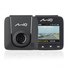 Видеорегистратор Mio MiVue 600 , Full HD,1920x1080, Угол обзора 130°,датчик удара, Черный