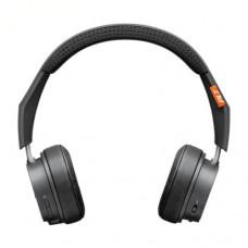 Наушники беспроводные накладные с микрофоном PLANTRONICS BACKBEAT 505, темно серый