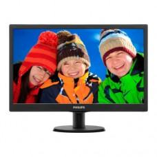 """Монитор19,5"""" Philips 203V5LSB26 Black./1600x900 5ms 200 кд/м2  D-Sub"""