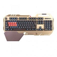 Клавиатура игровая Bloody B418, Golden, USB (проводная, механическая)