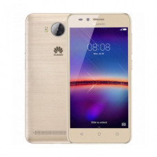 """Смартфон Huawei Y3 2017, 8GB, 5"""", 854x480, 1GB RAM, 8Mp, 2xSIM, Gold"""