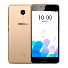"Смартфон Meizu M5c, 16GB, 5"", 1280x720, 2GB RAM, 8Mp, 2xSIM, LTE, Gold"
