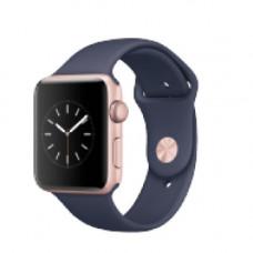 Apple Watch Series 2 42mm Rose Gold Alluminium Case with Bidnight B Sport Band Model A1758 MNPL2GK/A