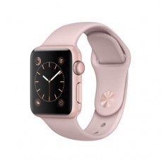 Apple Watch Series 2 42mm Rose Gold Alluminium Case with Pink Sand Sport Band Model A1758 MQ142GK/A