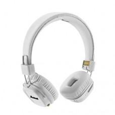 Наушники накладные с микрофоном Bluetooth, Marshall MAJOR II Белые