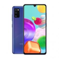 "Смартфон Samsung Galaxy A41 64GB 6.1"" 2400x1080, 4GbRAM, 48Mp, 2xSIM, LTE, Blue SM-A415FZBDSKZ"