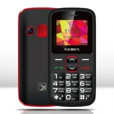 Мобильный телефон Texet TM-B217, черно-красный