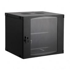 """Шкаф настенный SHIP, EW5412.100,19"""" 12U,540*450*593 мм Ш*Г*В IP20,Черный"""