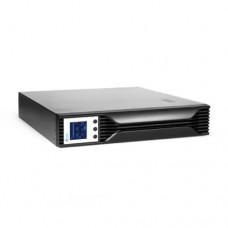 UPS SVC RTL-3K-LCD, стоечный 19'' 2U, 3000VA/2100W, AVR, 12V/9Ah*4, LCD, IEC 320 C13, USB, RS-232, R