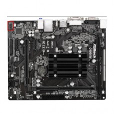 Материнская плата ASROCK Q1900M Intel Quad-Core J1900 (2 GHz) DDR3 1333 SATA2