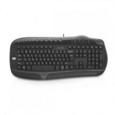 Клавиатура Delux DLK-9050UB, Черная, USB (проводная)
