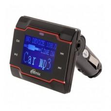FM модулятор RITMIX FMT-A760, MP3, SD-карта, USB-Port, пульт ДУ, питание от прикуривателя 12B